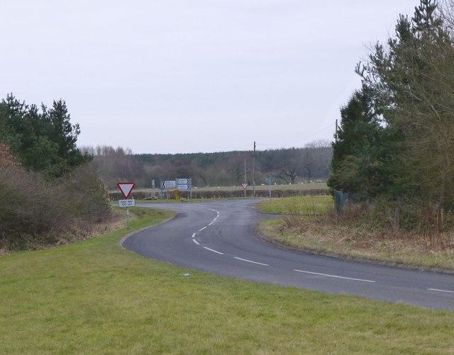Felton Road joins B1337