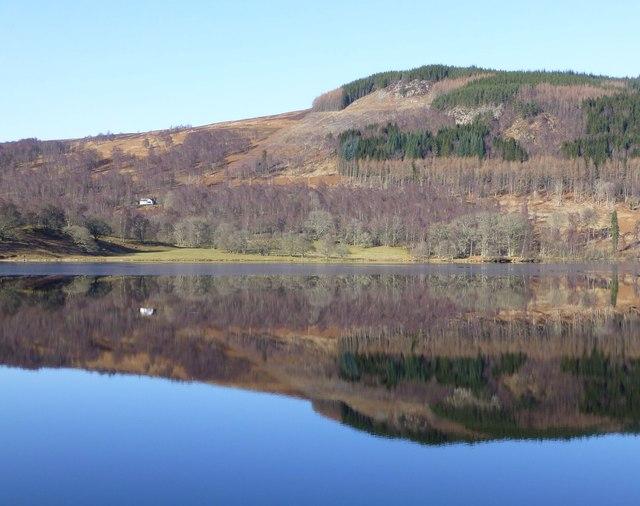 Reflections in Loch Tummel
