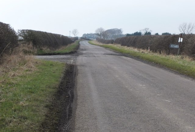 Road to Felkington and Duddo