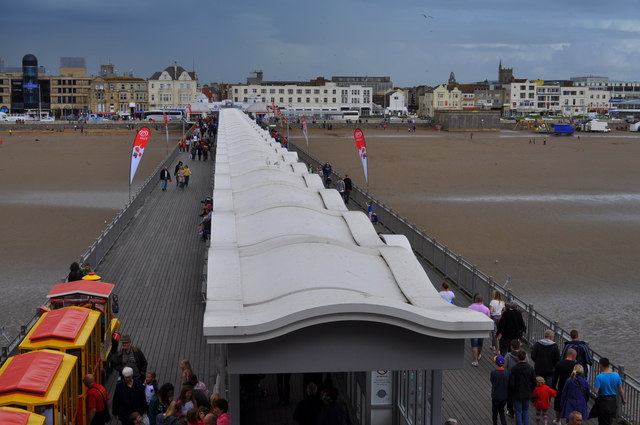 View along the Grand pier