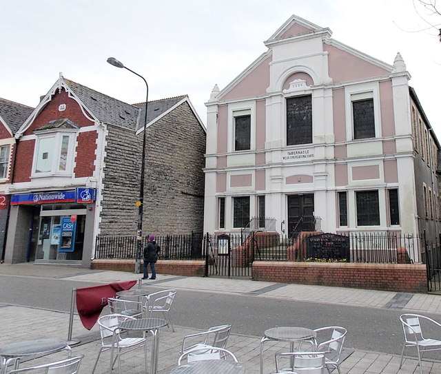 Tabernacle Welsh Congregational Chapel, Barry