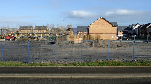 Housing development at Kingston Dock