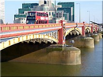 TQ3078 : 436 Bus, Vauxhall Bridge SW1 by Robin Sones