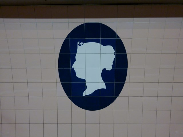 Queen Victoria, Victoria Underground Station