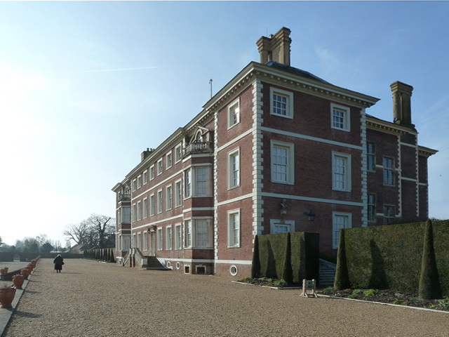Ham House as view from the east