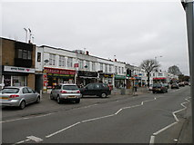 TQ0999 : Shops in Courtlands Drive by Keith Edkins