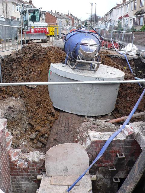 Sewer Repairs Hudd's Vale Rd