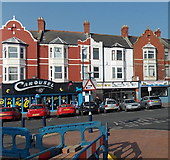 ST1166 : Three Paget Road businesses, Barry Island by Jaggery
