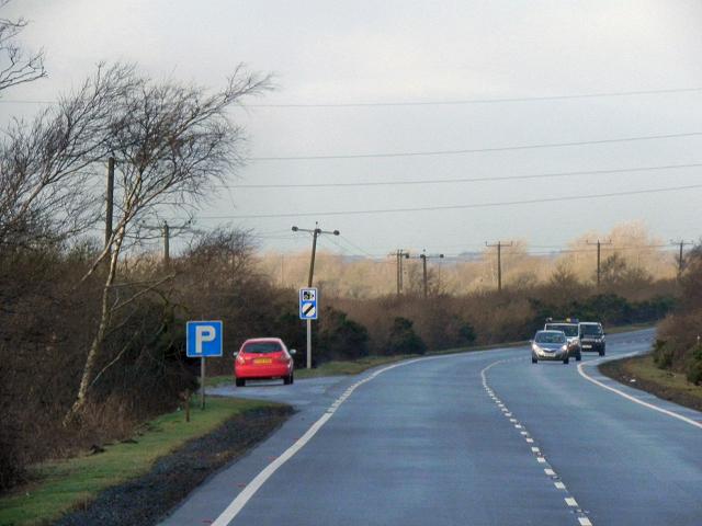 A75 Layby, Birkhill