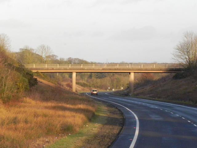 Eastbound A75 near Annan