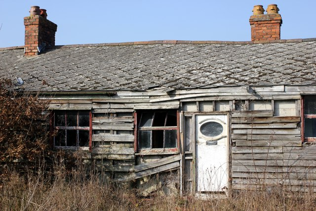 Dilapidated Building at Gorstella