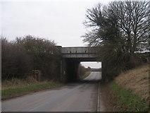 TA0912 : Croxton Road railway bridge by John Slater