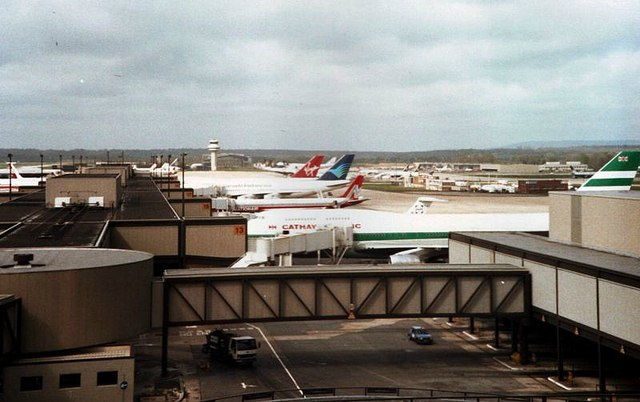 South Terminal, Gatwick Airport 1988