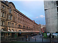SJ8398 : Frontage of Victoria Station, Hunt's Bank, Manchester by Phil Champion