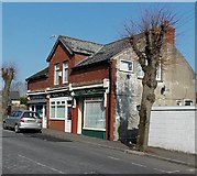 ST1067 : Three Park Crescent businesses, Barry by Jaggery