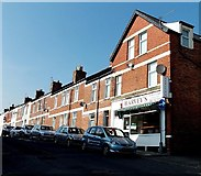 ST1067 : North side of Vale Street, Barry by Jaggery