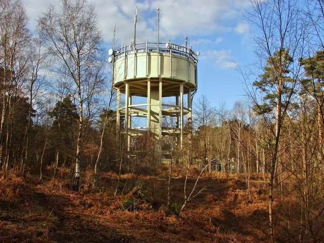 Black Hill water tower