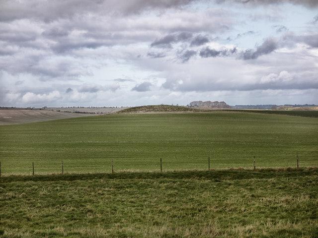 Long Barrow from The Wansdyke