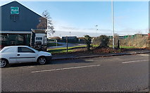 ST3386 : Eddie Stobart vehicles at the north edge of the Hasbro  Distribution Centre, Newport by Jaggery