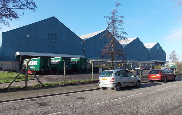 Hasbro Distribution Centre, Newport