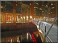 SJ8398 : The new Irwell footbridge Manchester by Steve  Fareham