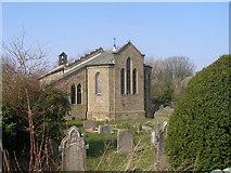 SD4455 : Christ Church, Glasson by John Slater