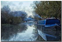 SU2763 : Great Bedwyn moorings by Gillie Rhodes