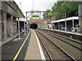 TQ3386 : Stoke Newington railway station, Greater London by Nigel Thompson