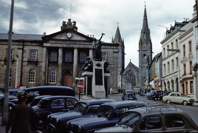Looking towards the Court House 1959