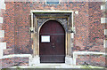 TQ3390 : All Hallows, Tottenham - West doorway by John Salmon