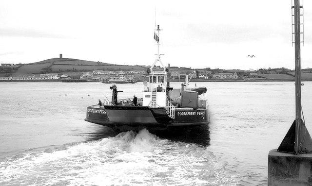 "The ""Portaferry Ferry"", Strangford (1991)"