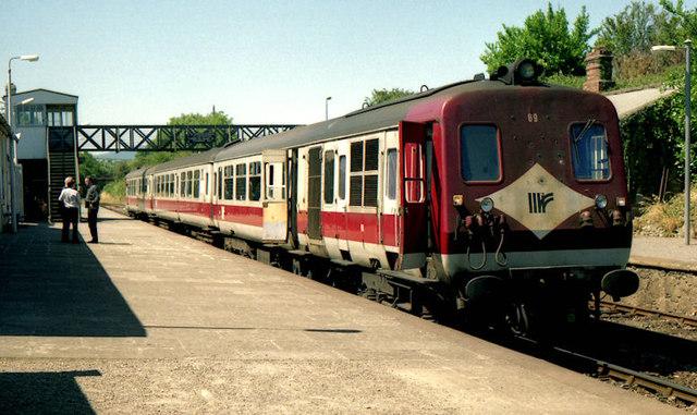 NIR railcars, Wicklow