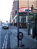 NS5566 : Unicycle on Dumbarton Road by Thomas Nugent