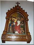 SP4540 : St John the Evangelist, Banbury: 2nd Station of the Cross by Basher Eyre