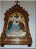 SP4540 : St John the Evangelist, Banbury: 13th Station of the Cross by Basher Eyre