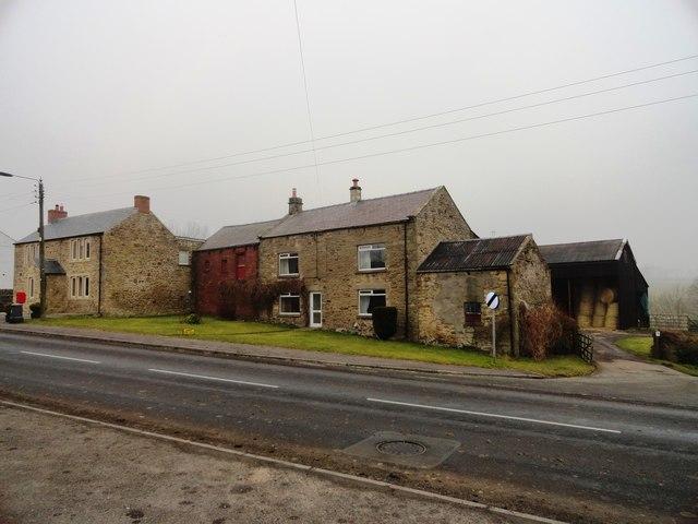 Farm buildings at Satley