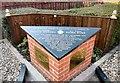 SJ9495 : Dedication to Nicola and Fiona by Gerald England