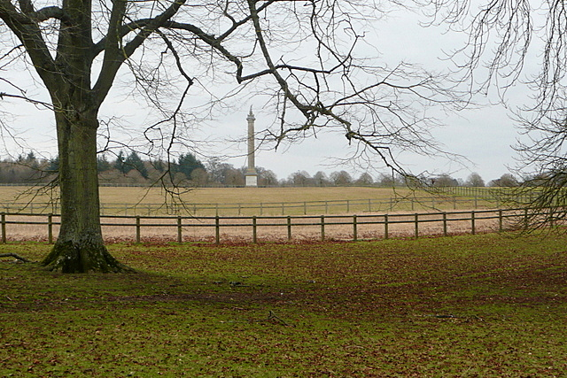 View towards the Column of Victory