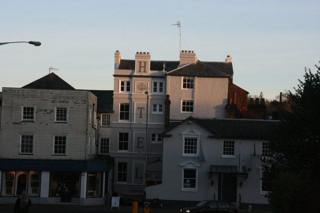 The former Swan Hotel