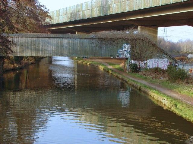 Bridges over the River Wey Navigation