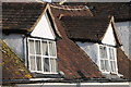 SO8933 : Dormer windows in a cottage by Philip Halling