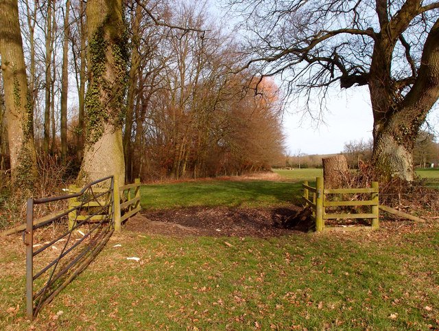 Gate at West Stowell