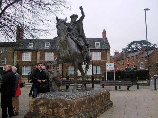 The Fine Lady Statue, Banbury