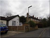TQ0464 : Houses on Liberty Lane, Addlestone by David Howard