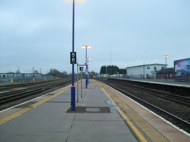 Looking South from Banbury Railway Station