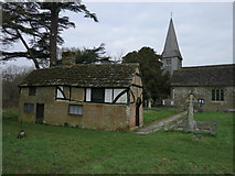 TQ1328 : St Nicholas Church Itchingfield by The Saunterer