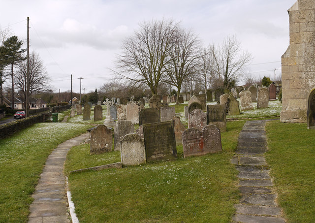 Graveyard in Whitwell