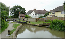SP2055 : Maidenhead Road Lock in Stratford-upon-Avon, Warwickshire by Roger  Kidd