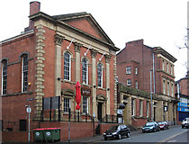 SE3320 : Wakefield - former chapel and post office by Dave Bevis