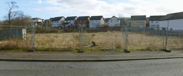 The former site of Napierston Farm